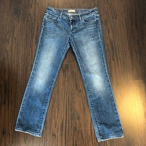 Paige jeans Blue heritage low rise skinny size 30